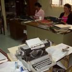 Das Büro des Zivilstandsamtes mit seinen \