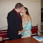 Sie dürfen die Braut jetzt küssen